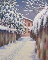 Nevicata a Maccio