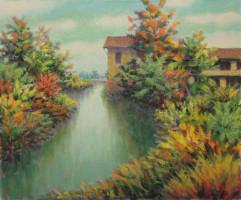Mulino sul torrente