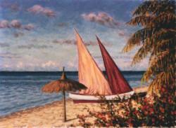 Spiaggia delle Isole Mauritius