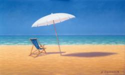Luce e serenità sulla spiaggia
