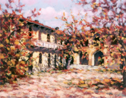 Cortile d'autunno